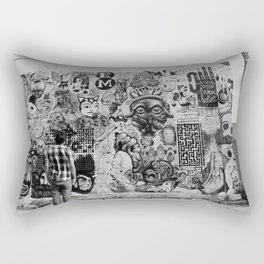 Watching  Rectangular Pillow