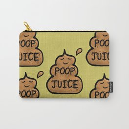 Poop Juice Carry-All Pouch