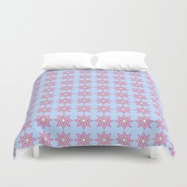 Stars 2- sky,light,rays,pointed,hope,estrella,mystical,spangled,gentle. Duvet Cover
