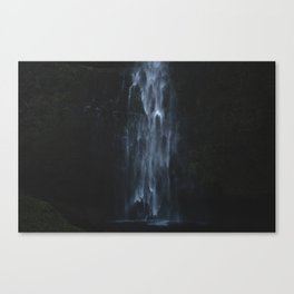 Ghost inside the water Canvas Print