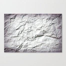 crinkle Canvas Print