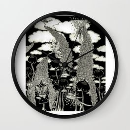 Faires Wall Clock