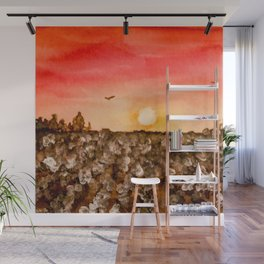 Southern Snow Wall Mural