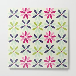 Fashion Flowers STyle Metal Print