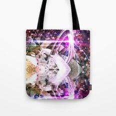 Abstract Rivers Tote Bag