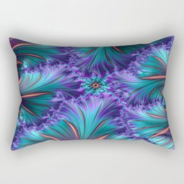 Fire Fractal Rectangular Pillow