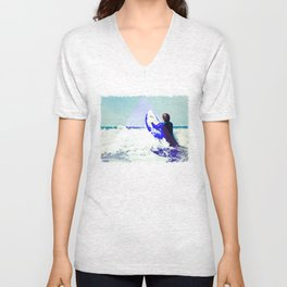 Surfing Devon Unisex V-Neck