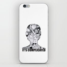 Its Complicated iPhone Skin