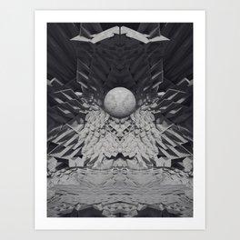 CONCRETE VIBRATION Art Print