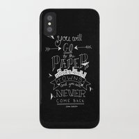 paper towns iPhone & iPod Cases featuring Paper Towns by karifree