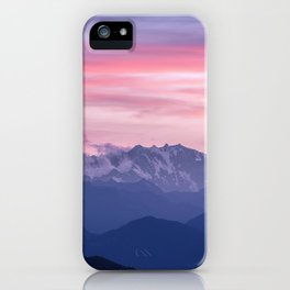 Monte Rosa iPhone Case