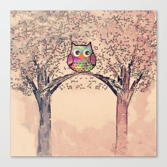 owl-245 Canvas Print