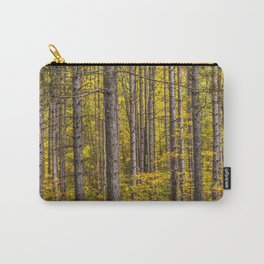 Fall Colors among Pine Trees Carry-All Pouch