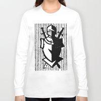 knight Long Sleeve T-shirts featuring Knight by Haily Gwynn Shaw