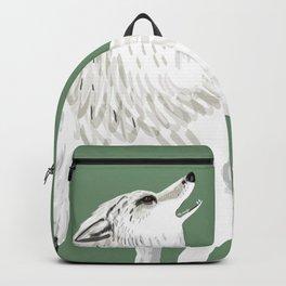 Totem Alaska tundra wolf Backpack