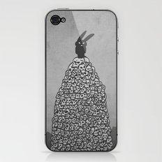 The Black Bunny of Doom in his natural habitat iPhone & iPod Skin