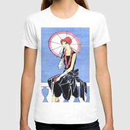 Art Deco Lady T-shirt