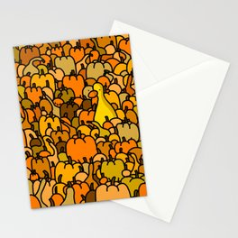 Duck in a Pumpkin Patch Stationery Cards