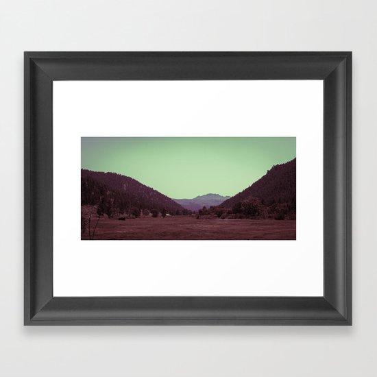 Buffalo Creek Framed Art Print