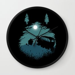 Walking Home Wall Clock