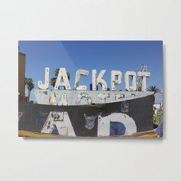 Jackpot  Metal Print