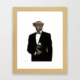 """GREAT APE      """"The Planet Earth Awards, Beyond Superstition"""" Framed Art Print"""