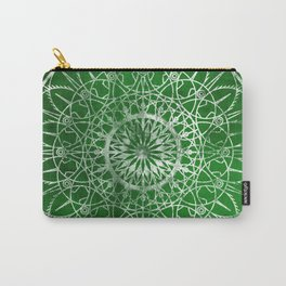 Fire Blossom - Emerald Carry-All Pouch