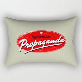 Subliminal Propaganda Rectangular Pillow
