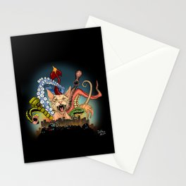 Cat o Nine tails Stationery Cards