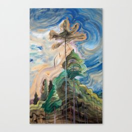 Emily Carr - Sunshine and Tumult - Canada, Canadian Oil Painting - Group of Seven Canvas Print