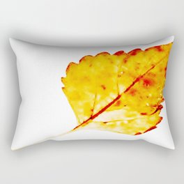 BE LIKE A LEAF #4 Rectangular Pillow