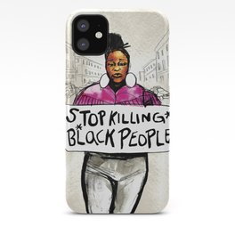 Stop Killing Black People iPhone Case