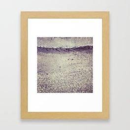 Rainy MTL Framed Art Print