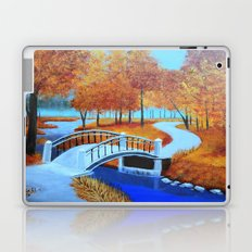 Autumn landscape 5 Laptop & iPad Skin