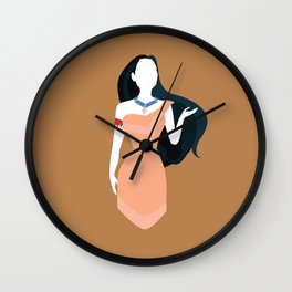 Pocahontas Disney Princess Wall Clock