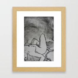 I AM MINE Framed Art Print