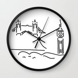 London tower bridge big ben Wall Clock