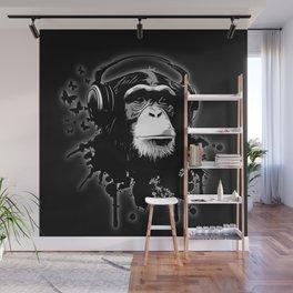 Monkey Business - Black Wall Mural