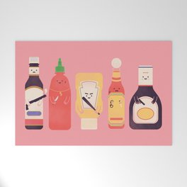 Ex-Condiments Welcome Mat