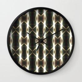EclipsePattern Wall Clock