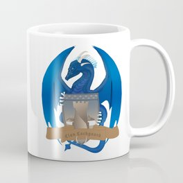 Clan Lochguard Blue Crest Coffee Mug