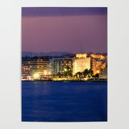 Thessaloniki Promenade Poster