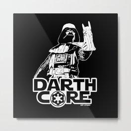 Darthcore Metal Print