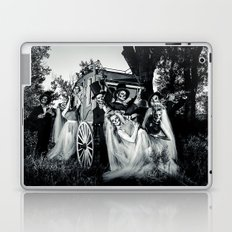 Day Of The Dead Wedding Couple Laptop & iPad Skin