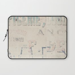 the writing on the wall ... Laptop Sleeve