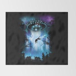 Alien Conquest Throw Blanket