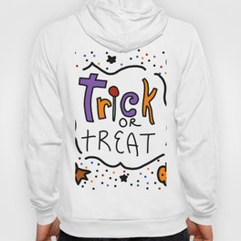 Trick or Treat Halloween | Veronica Nagorny Hoody