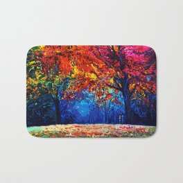 Tardis Tree Art Blossom Bath Mat
