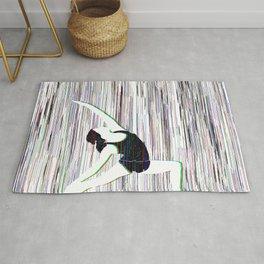 Yoga Glitch Rug