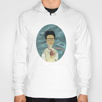 frida kahlo Hoodies featuring Frida Kahlo by Chris Talbot-Heindl
